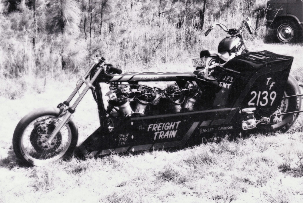 Freight Train Motorcycle