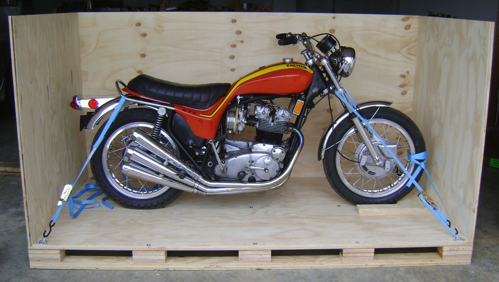 Triumph Shipping Crate