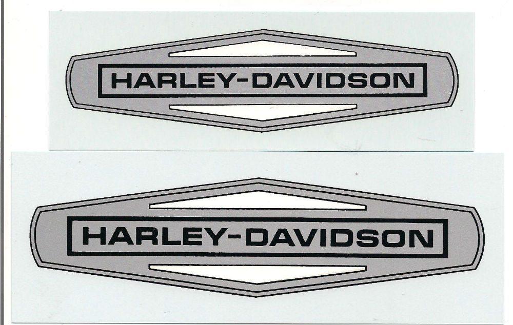Harley Davidson Vintage Decals 1908 Through 1980 S Hopson